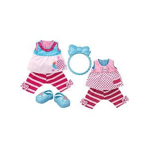 Baby Alive ベビーアライブ 赤ちゃん 人形 フィギュア ドール Baby Alive Pretty Ruffles Reversible Outfit - Sunny Play Date