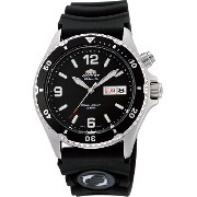 "オリエント 時計 メンズ 腕時計 Orient #FEM65004B Men's ""Back Mako"" 200M Automatic Diver Watch with Rubber Strap"