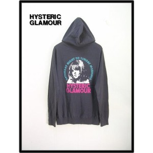 M【HYSTERIC GLAMOUR ヒステリックグラマー MID VACATION編込パーカー】0213ND05394