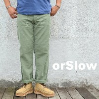 orSlow(オアスロウ)/ US ARMY FARIGUE PANT -(216)GREEN USED-