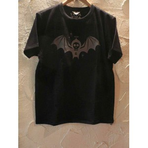 GROK LEATHER(グロックレザー)/HYENA SEVEN TEE BLACK