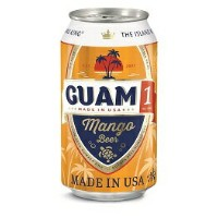 America beer アメリカビールグアム1マンゴー ビール缶 355ml/24本.yLet's have a Guam 1 Time ! !
