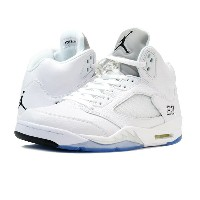 NIKE AIR JORDAN 5 RETRO ナイキ エア ジョーダン 5 レトロ WHITE/METALLIC SILVER/BLACK