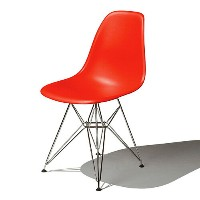 Eames Shell Chair イームズ チェア Side Chair(DSR) /レッド【smtb-ms】【RCP】.