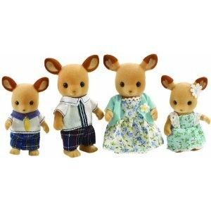 Sylvanian Families Red Deer Family