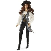 Barbie バービー Collector Pirates of The Caribbean: On Stranger Tides Angelica Doll 人形 ドール