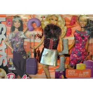 Barbie バービー Fashionistas Day Looks Clothes - Sassy Travel Fashions