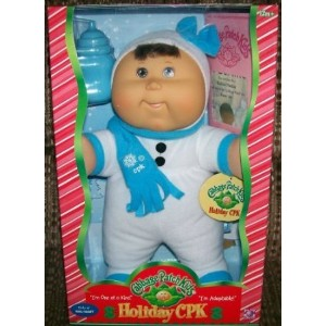 2007 Holiday Cabbage Patch Kid Exclusive ドール 人形 フィギュア