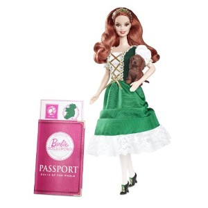 Barbie バービー Collector Dolls of The World Ireland Doll 人形 ドール