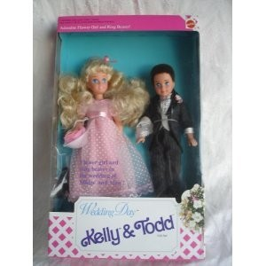 Wedding Day Kelly & Todd Gift Set Barbie バービー Doll ドールs 1991 Mattel