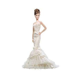 Barbie バービー Gold Label Collection Vera Wang Bride The Romanticist Barbie バービー Doll 人形 ド