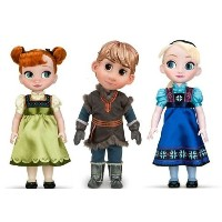 "Disney STORE Animations COLLECTION ""Frozen"" ""Anna / Kristoff / Elsa"" toddler set ディズニース"