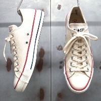 【 CONVERSE / コンバース 】 CANVAS ALL STAR J OX [NATURAL WHITE] / キャンバス オールスター J OX CHUCK TAYLOR /...