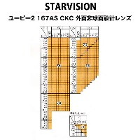 STAR VISION(スタービジョン)非球面メガネレンズ「UP2 1.67AS」