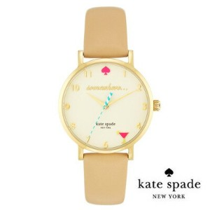 ケイトスペード Kate Spade 腕時計 Metro It's 5 o'clock Somewhere / Happy Hour Watch 34mm (Vachetta) メトロ...