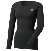 THE NORTH FACE(ザ・ノースフェイス) L/S HOT CREW Women's L K(ブラック) NUW66152