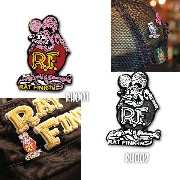 Rat Fink (ラット フィンク) ハット ピン(カラー)