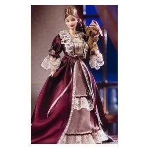 Barbie 1999 Collector Edition 12 Inch Doll Set - Victorian Barbie with Cedric Bear, Nightdress, Dr