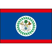 105cm 小サイズ・アクリル・国旗 ベリーズ(Belize )・National flag【応援グッズ】