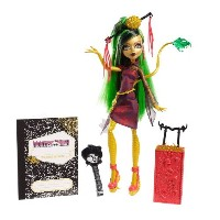Monster High モンスターハイ Travel Scaris Jinafire Long Doll 人形 ドール