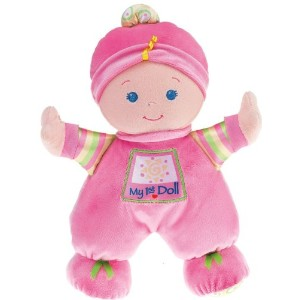 Fisher-Price フィッシャープライス Brilliant Basics Baby's First Doll 人形 ドール