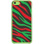 【送料無料】 Zebra HIPHOP (クリア) design by ROTM / for iPhone 5c/SoftBank 【SECOND SKIN】【ハードケース】iPhone5cカバー...