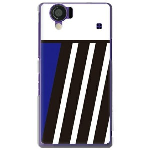 【送料無料】 BLUE & BLACK ブルー (クリア) design by ROTM / for AQUOS PHONE 102SH/SoftBank 【SECOND SKIN】102SH...