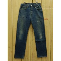 USA古着/ヒゲ/MADE IN USA/80S 古着LEVIS/リーバイス 501ハチマル W32×L32/