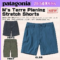 Patagonia M's Terre Planing Stretch Shorts - 20 in.【パタゴニア】【Patagonia_2015SS】【SSDCN】