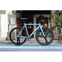ピストバイク CUSTOM 完成車 8bar bikes FHAIN V1 Front DINER Carbon 3spoke Custom