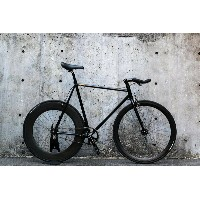 "CARTEL BIKES ""AVENUE LO"" DINER REAR 88mm CARBON WHEEL CUSTOM MAT BLACK 【カーテルバイク アベニュー ロウ ダイナー..."