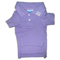 ★RuffLuv/ラフラブ★Lilac Button's Up Polo犬用ポロシャツ