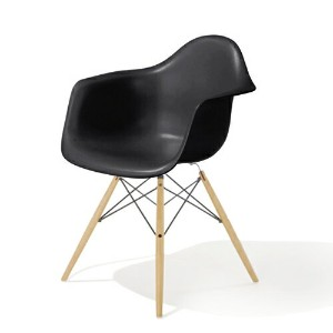 HM_EU8-00 Herman Miller ハーマンミラーEames Shell Chairs イームズ アームシェルチェアDAW/ブラック/メープル DAW.BK.UL.ZA.E8【送料無料】