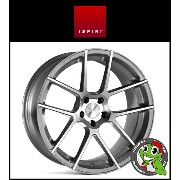 19インチ【Ispiri Wheel ISR6】19×8.5J 5/112 +45 HUB:66.56φ【Satin Silver Machined(サテンシルバーマシン)】【1985】...