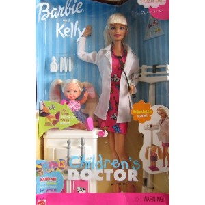 Barbie バービー and Kelly Children's Doctor Career Series (2000) 人形 ドール