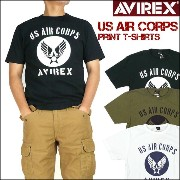 【30%OFFセール】AVIREX (アビレックス)半袖Tシャツ/US AIR CORPS6153517【smtb-k】【ky】プレゼント ギフト