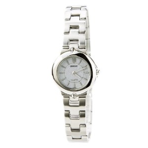 オリエント 時計 レディース 腕時計 Orient PVL00001S Women's Grey Dial Stainless Steel Bracelet Quartz Watch