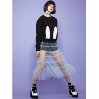 【SALE/50%OFF】Honey mi Honey *tulle skirt ハニーミーハニー スカート【RBA_S】【RBA_E】【送料無料】