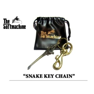 SOFTMACHINE(ソフトマシーン)SNAKE KEY CHAIN(キーチェーン)【2016SUMMER VACATION】