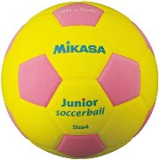 MIKASA ミカサ スマイルサッカーボール 4号 軽量球 約180g SF4J-YP 【取り寄せ品】