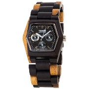 テンス 時計 メンズ 腕時計 木製 Tense Triple Window Hexagon Mens Discovery Marmot Watch G8303DM DF