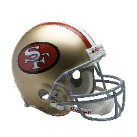 NFL 49ers ヘルメット リデル/Riddell Authentic Helmet VSR4