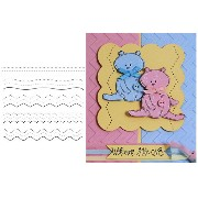 The Crafter's Workshop ステンシルシート Stitch Doodle Dot