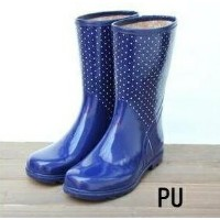 Short Rubber Bootsショートガーデンブーツ【AJG10PU】