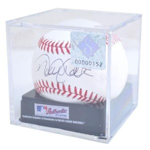 MLB ヤンキース デレク・ジーター 直筆サイン入りボール ローリングス/Rawlings Official Ball With Sign Case