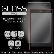 GGLASS PRO+ Premium Tempered Glass Screen Protection for Xperia (TM) Z3 Tablet compact / 液晶 保護 強化...