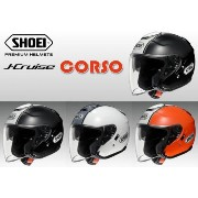 【SHOEI】 ジェイ-クルーズ コルソ Sサイズ(55cm) TC-5(黒/白) TC-6 (白/銀) TC-8 (オレンジ/白) ジェット ヘルメット シ...