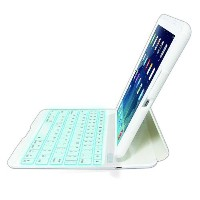 Backlight Bluetoothキーボード for iPad Air ホワイト[グッズ]
