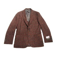 【期間限定30%OFF!】SOUTHWICK(サウスウィック)/CAMBRIDGE HARRIS TWEED JACKET/rust