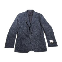 【期間限定30%OFF!】SOUTHWICK(サウスウィック)/CAMBRIDGE HARRIS TWEED JACKET/navy herringbone
